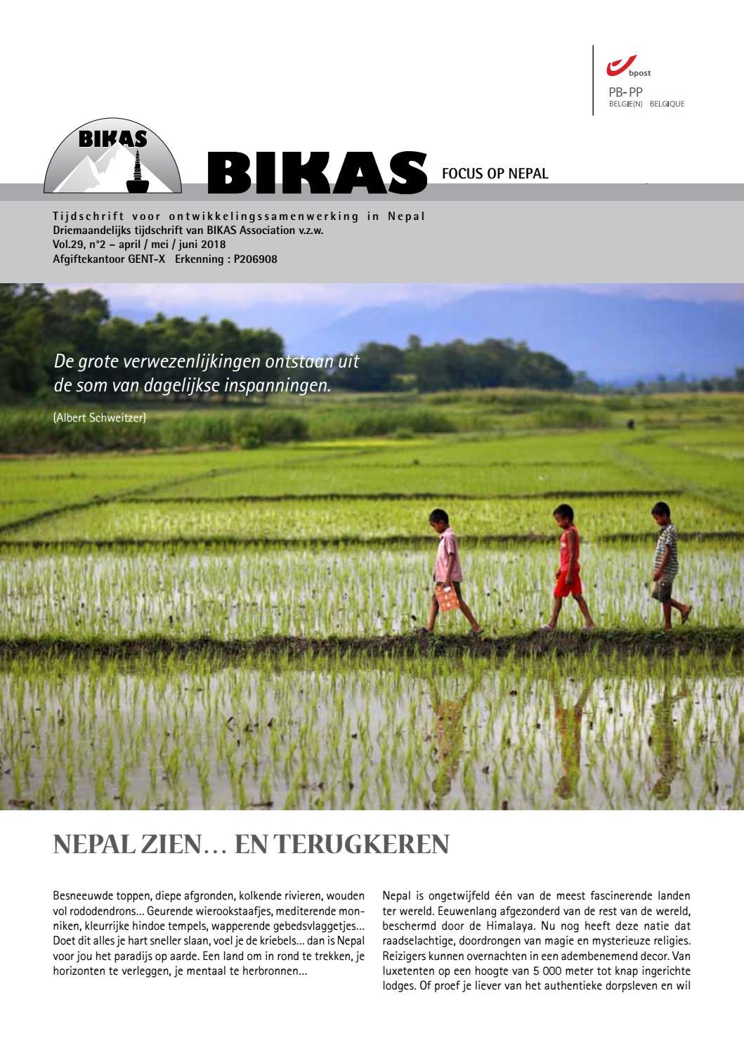 4078fb29d47 BIKAS Tijdschrift apr-mei-jun 2018 by BIKAS vzw - issuu