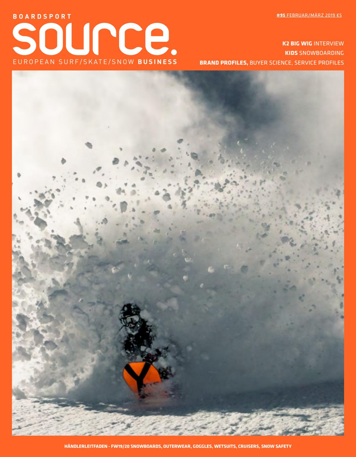 BoardSport Source, Issue 95, February March 2019 German by
