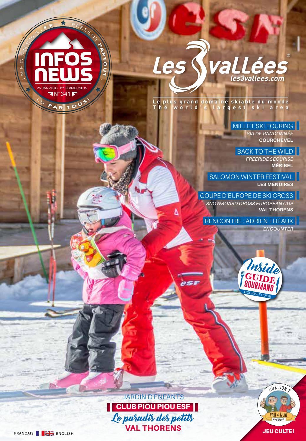Les 3 Vallées Infosnews n°341 by Magazine INFOSNEWS issuu