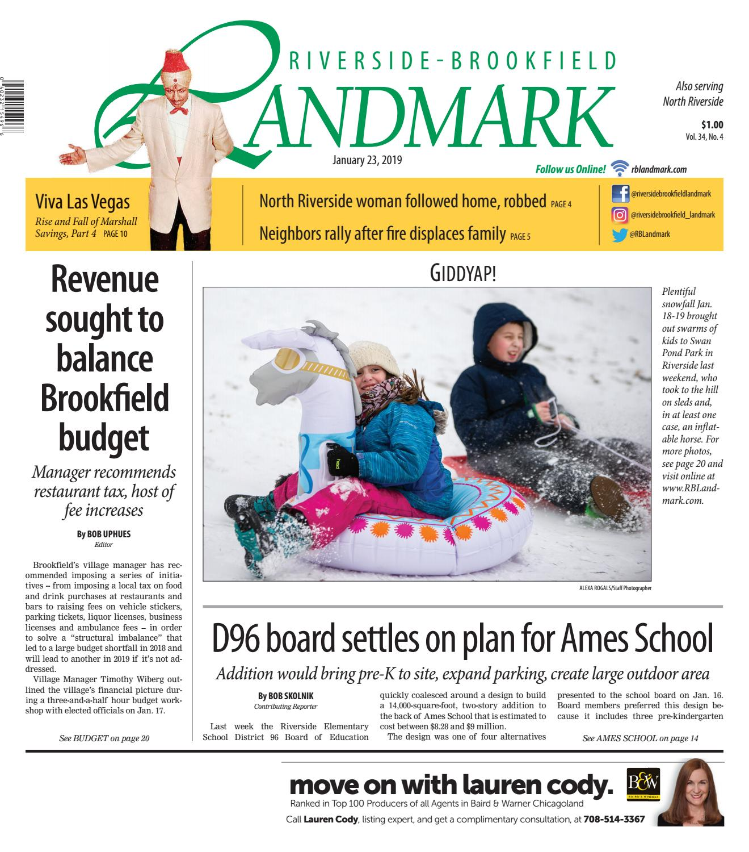 Landmark 012319 by Wednesday Journal - issuu