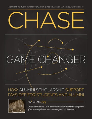 Chasemagazinewinter2018 19 By Nkuchasecollegeoflaw Issuu