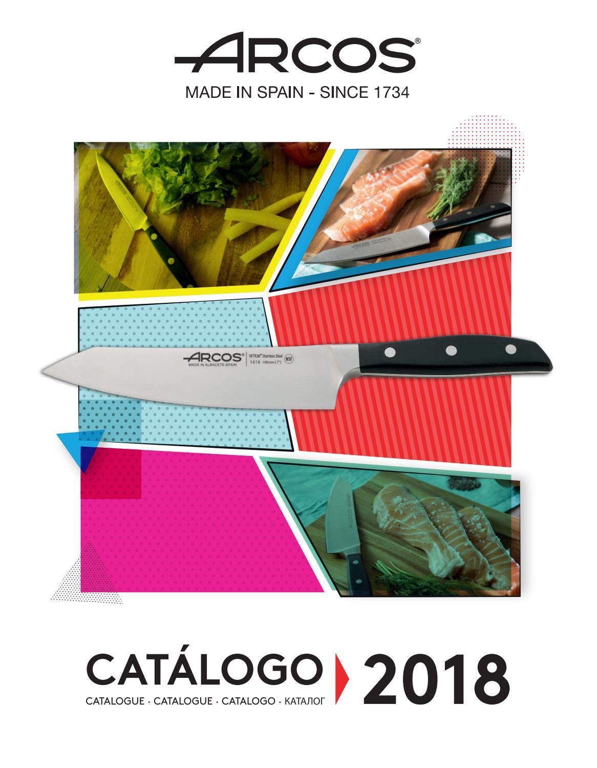 Cuchillo de cocina Arcos 2900 Prof  290423 de acero inoxidable Nitrum y mango