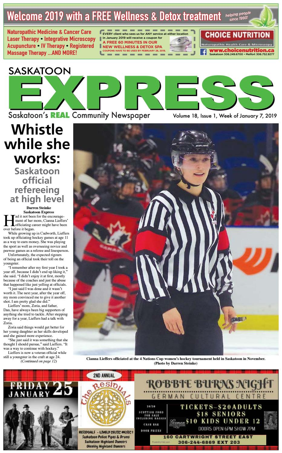 2418c64b Saskatoon Express, January 7, 2019 by Saskatoon Express - issuu