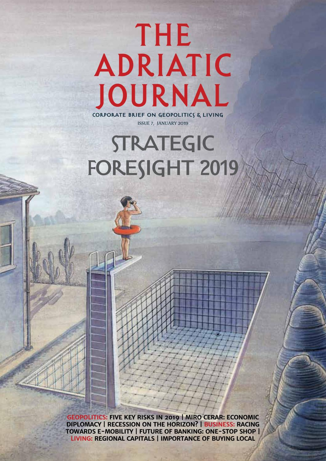 Adriatic Journal - Strategic Foresight 2019 by Bebic - issuu