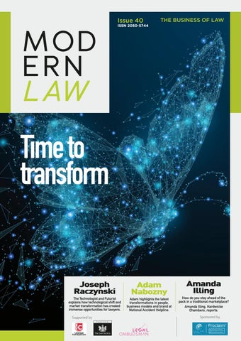 Modern Law Magazine - Issue 40 by Charlton Grant - issuu