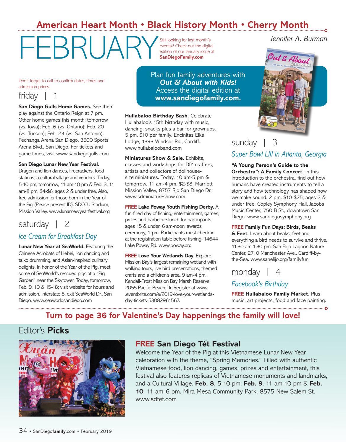 San Diego Family February 2019 By Magazine