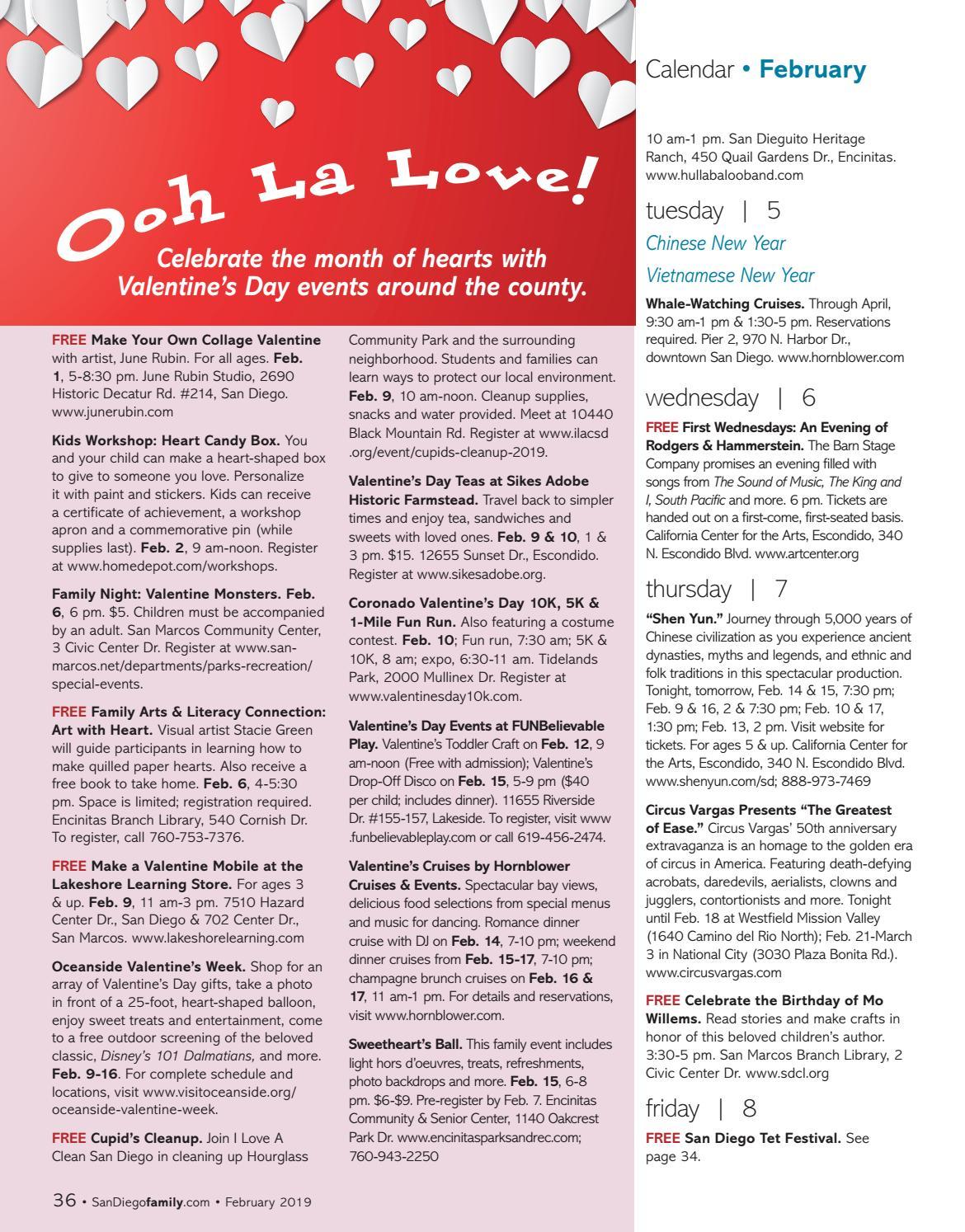 8ffa1d4309dbc2 San Diego Family February 2019 by San Diego Family Magazine - issuu