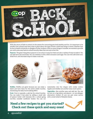 Page 4 of School Snacks