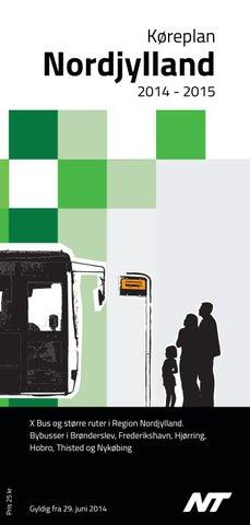 Samlet Køreplan   Busser/Tog i Region Nordjylland   Gyldig