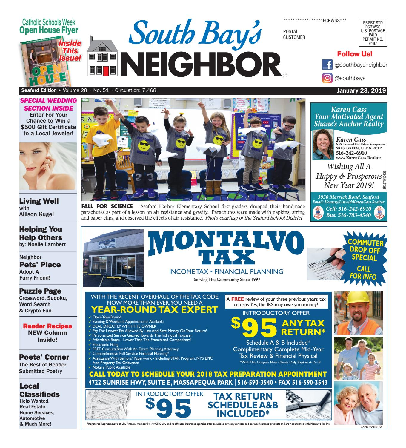 January 23, 2019 Seaford by South Bay's Neighbor Newspapers