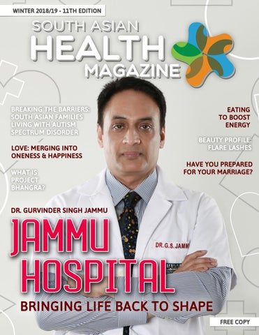 South Asian Health Magazine 11th Edition January 2019