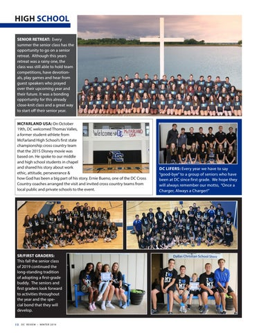 Page 12 of Dallas Christian School - high school