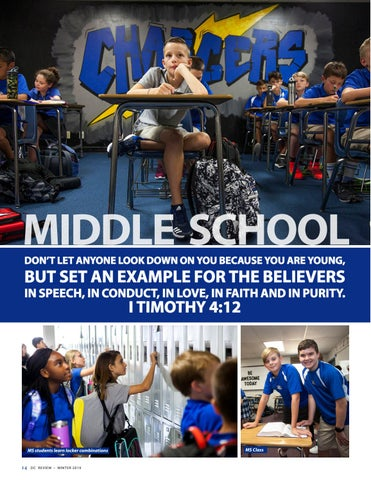 Page 14 of Dallas Christian School Middle School