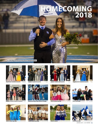 Page 25 of Dallas Christian School Homecoming 2018