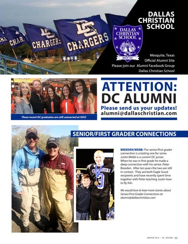 Page 33 of Dallas Christian School Alumni