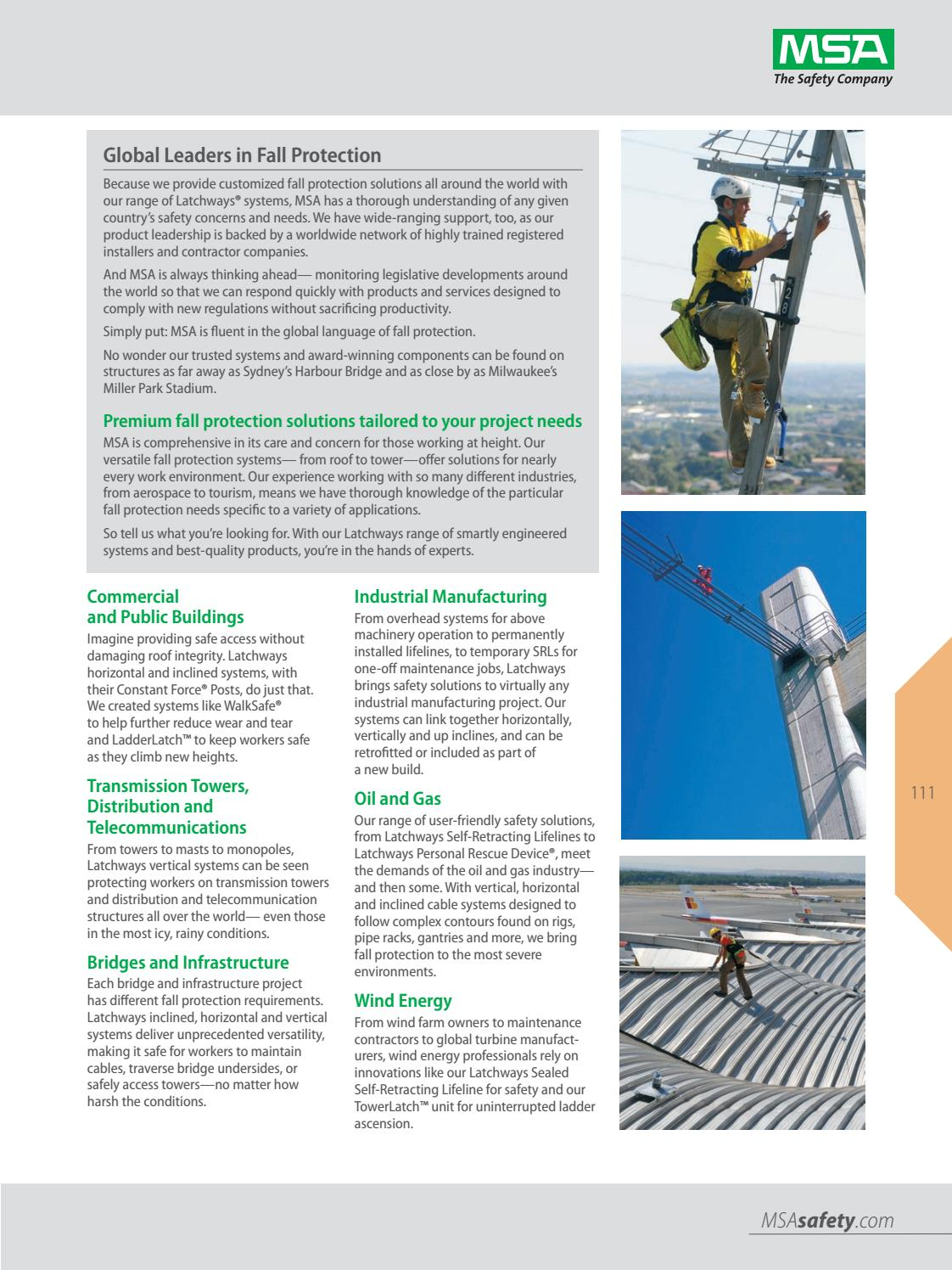 2018 MSA US Safety Equipment Catalog by Industrial de