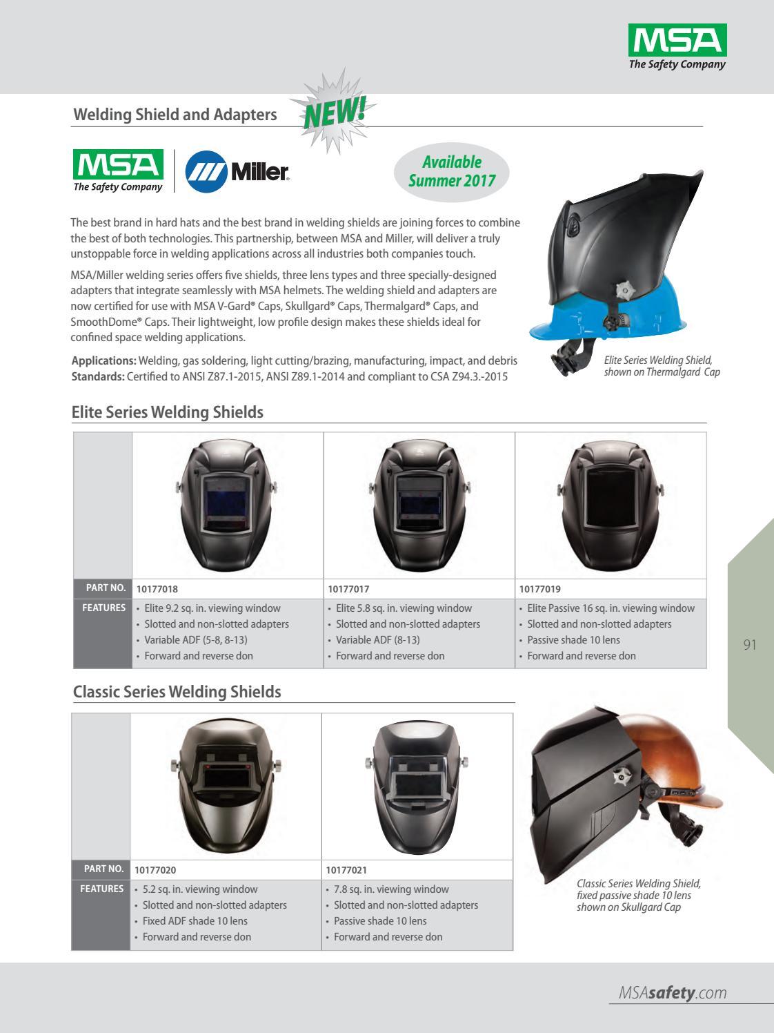 2018 MSA US Safety Equipment Catalog by Industrial de Equipos de