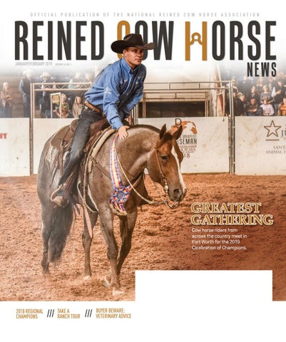 Reined Cow Horse News By Cowboy Publishing Group Issuu