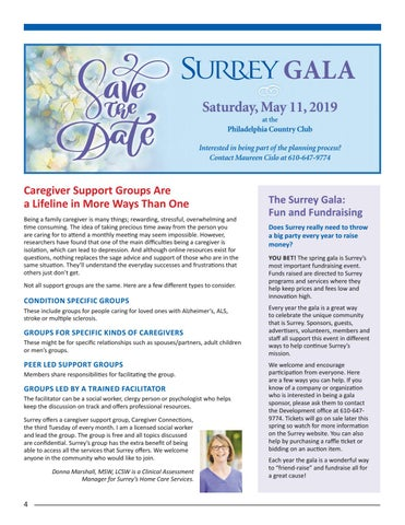 Page 4 of Caregiver Support Groups are a Lifeline