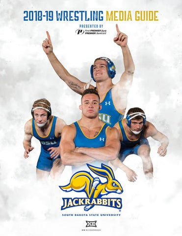 2018-19 South Dakota State Wrestling Media Guide by South