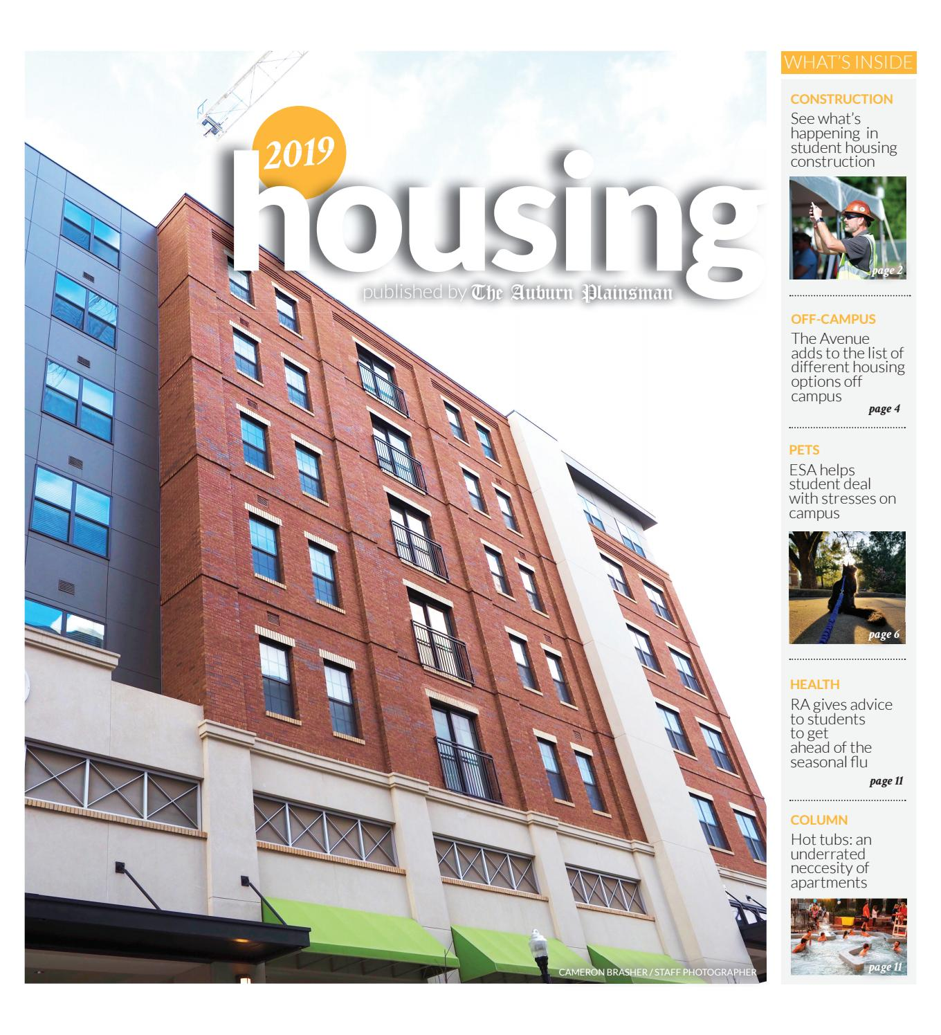 Housing Special Issue By The Auburn Plainsman