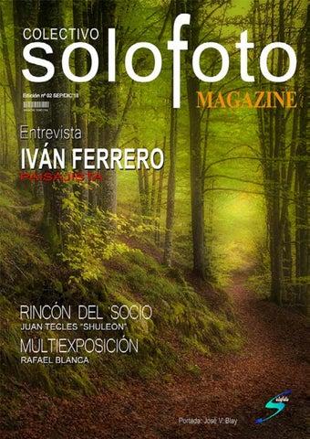 Page 1 of Magazine COLECTIVO SOLOFOTO Nro 02