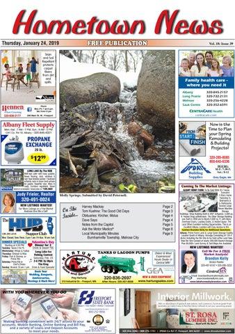 Hometown News January 24, 2019 by Hometown News - issuu