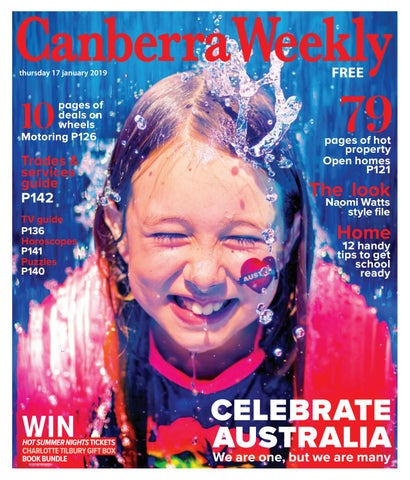 faa8f1402fbd 17 January 2019 by Canberra Weekly Magazine - issuu