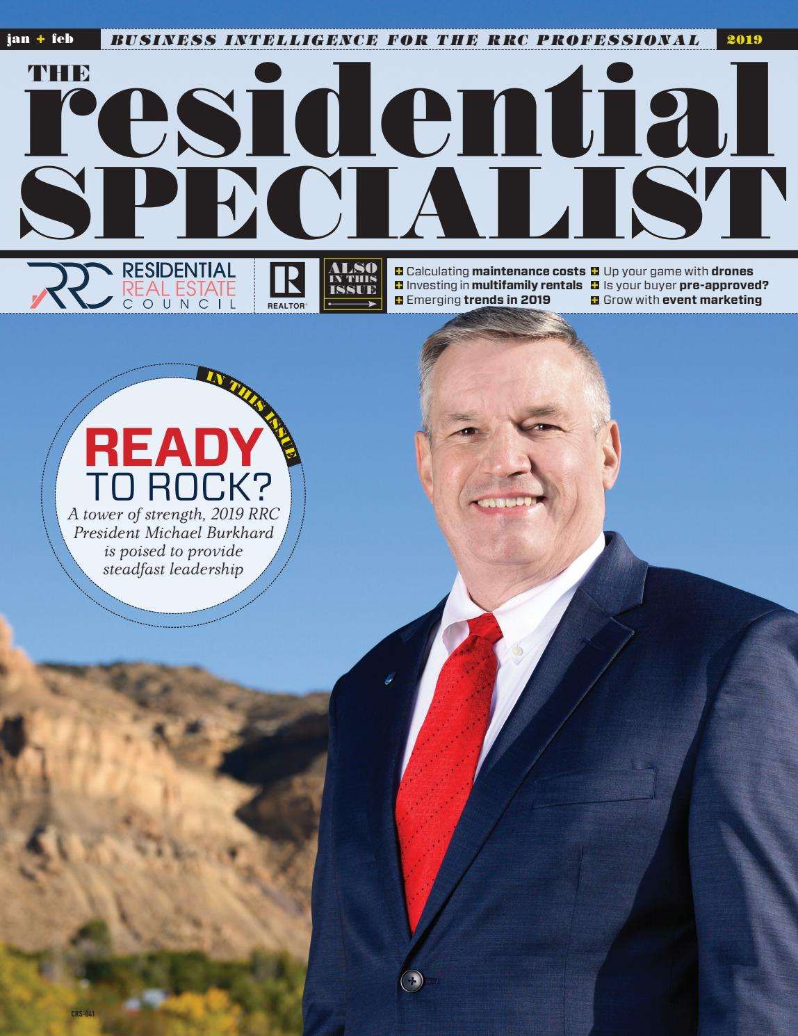 The Residential Specialist, January/February 2019 by The Residential