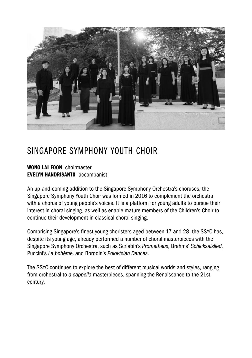 Lan Shui's Farewell by Singapore Symphony - issuu