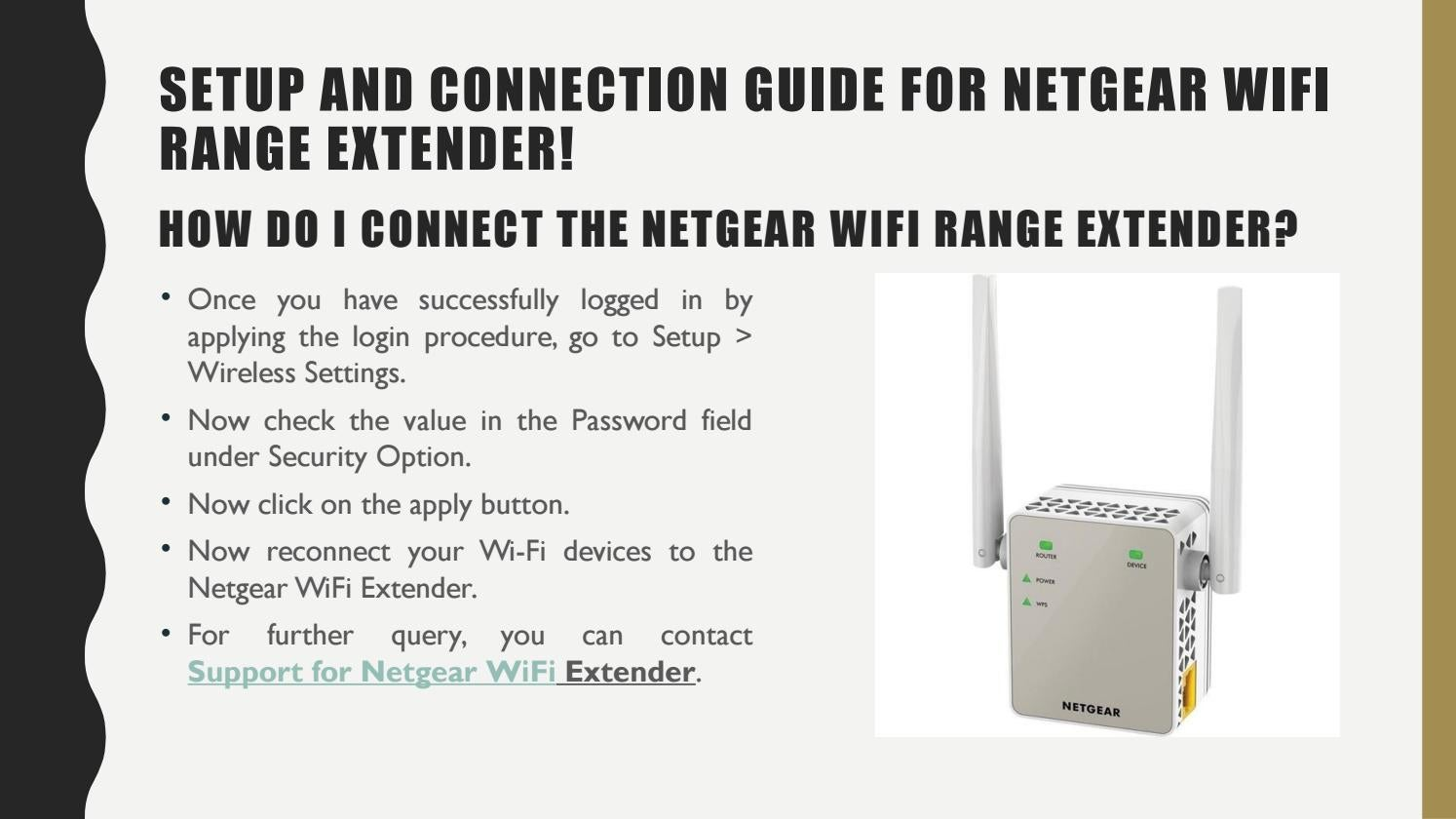 Setup And Connection Guide For Netgear WiFi Range Extender! by