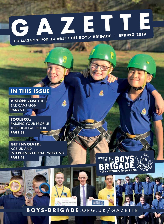 Boys Brigade Gazette Spring 2019 By The Boys Brigade Issuu