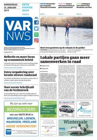 3878717aec0c04 VARnws Stichtse Vecht 24 januari 2019 by VARnws - issuu