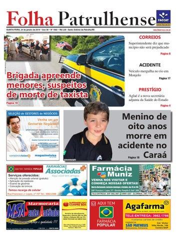4f31521b0a0 Edição 240119 by Jornal Folha Patrulhense - issuu