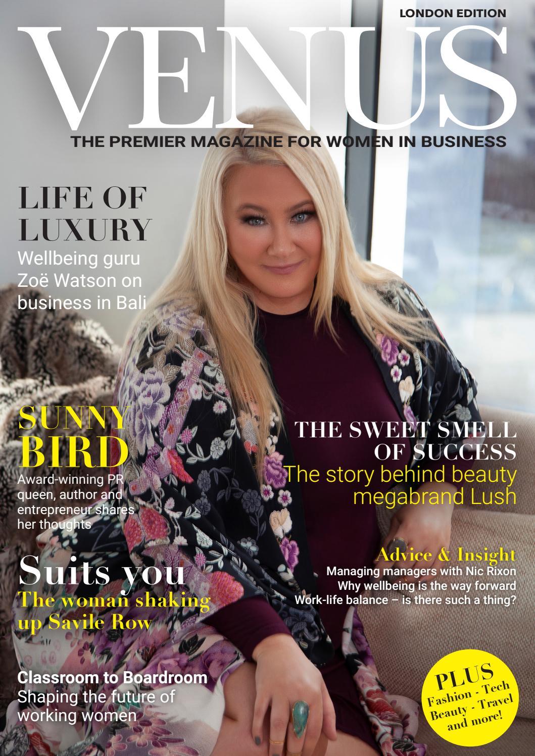 060f5481b7dea Venus Magazine London 2019 by Venus - issuu