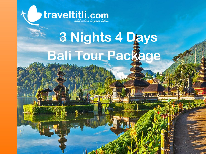 3 Nights Bali Tour Package Bali Honeymoon Package Travel