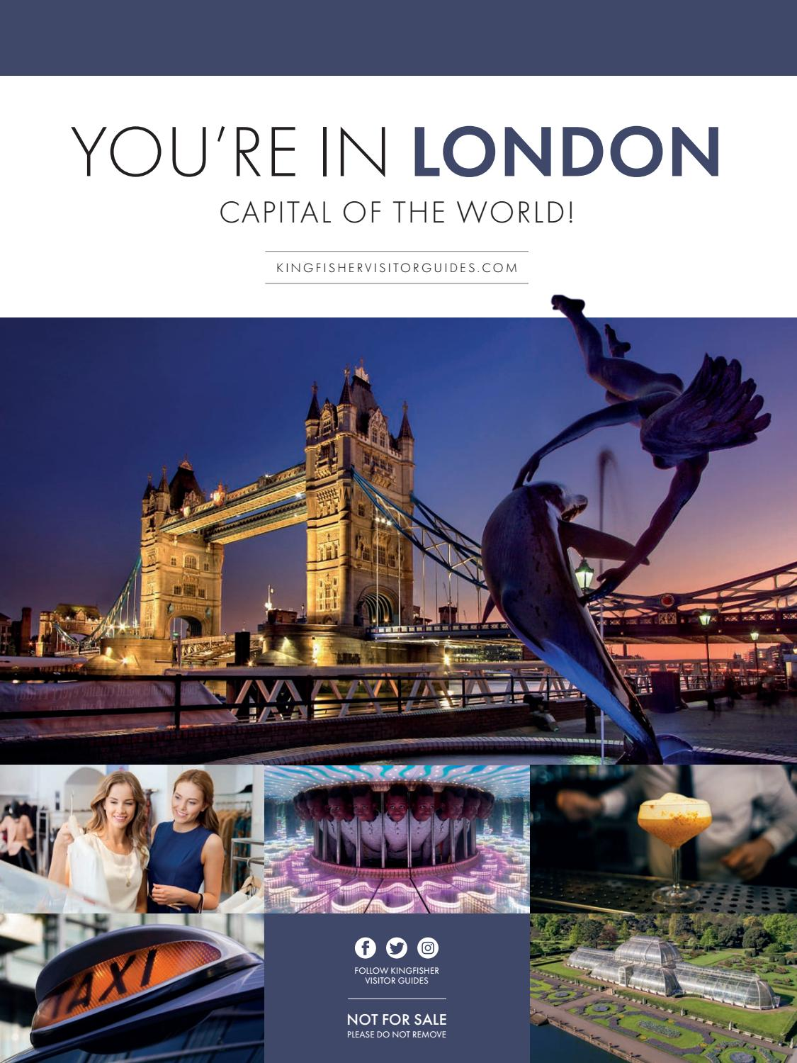 5eefdca95 You're in London – Capital of the World! by Kingfisher Visitor Guides -  issuu