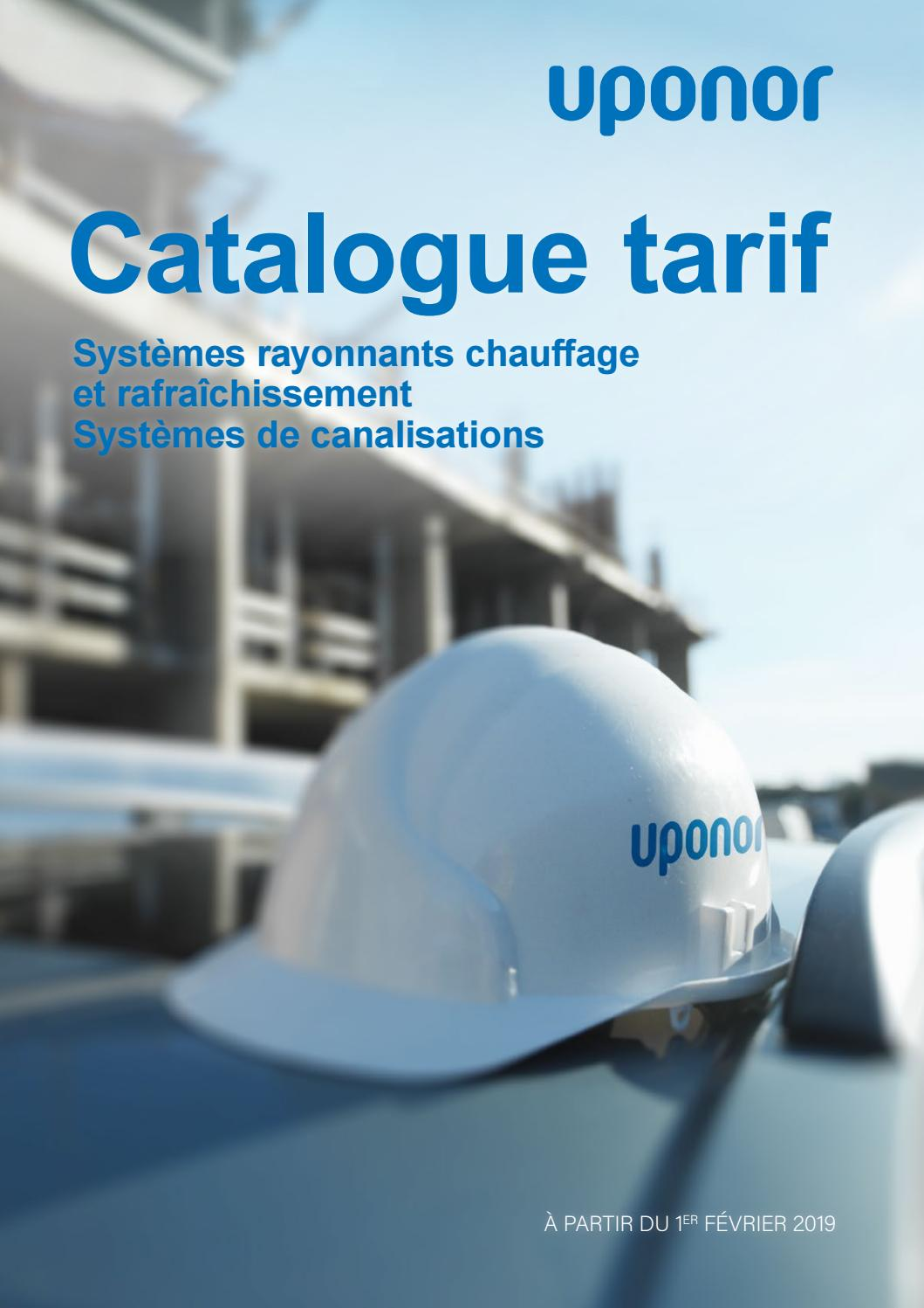 Coût Plancher Chauffant Hydraulique catalogue uponoruponor france - issuu
