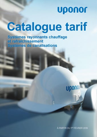 31cbbc6eec16 Catalogue uponor by Uponor France - issuu