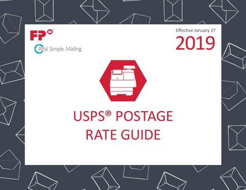 FP Jan 2019 Postal Rate Guide by FP USA - issuu