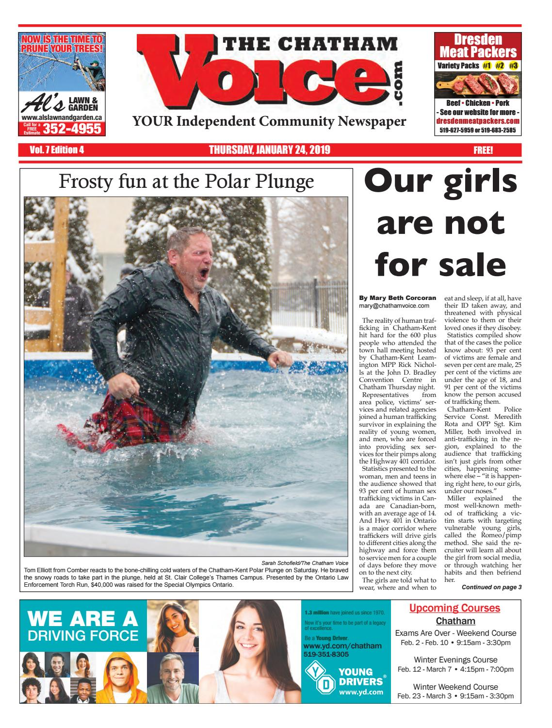 The Chatham Voice, Jan  24, 2019 by Chatham Voice - issuu