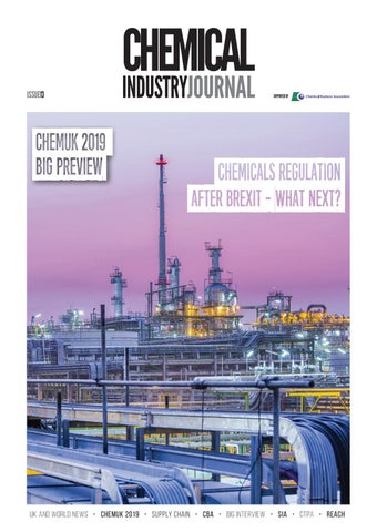 Chemical Industry Journal 13 by Distinctive Publishing - issuu