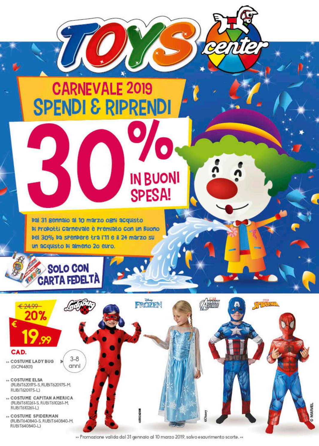 vendite all'ingrosso San Francisco piuttosto economico Carnevale Toys Center 2019 by Toyscenter - issuu