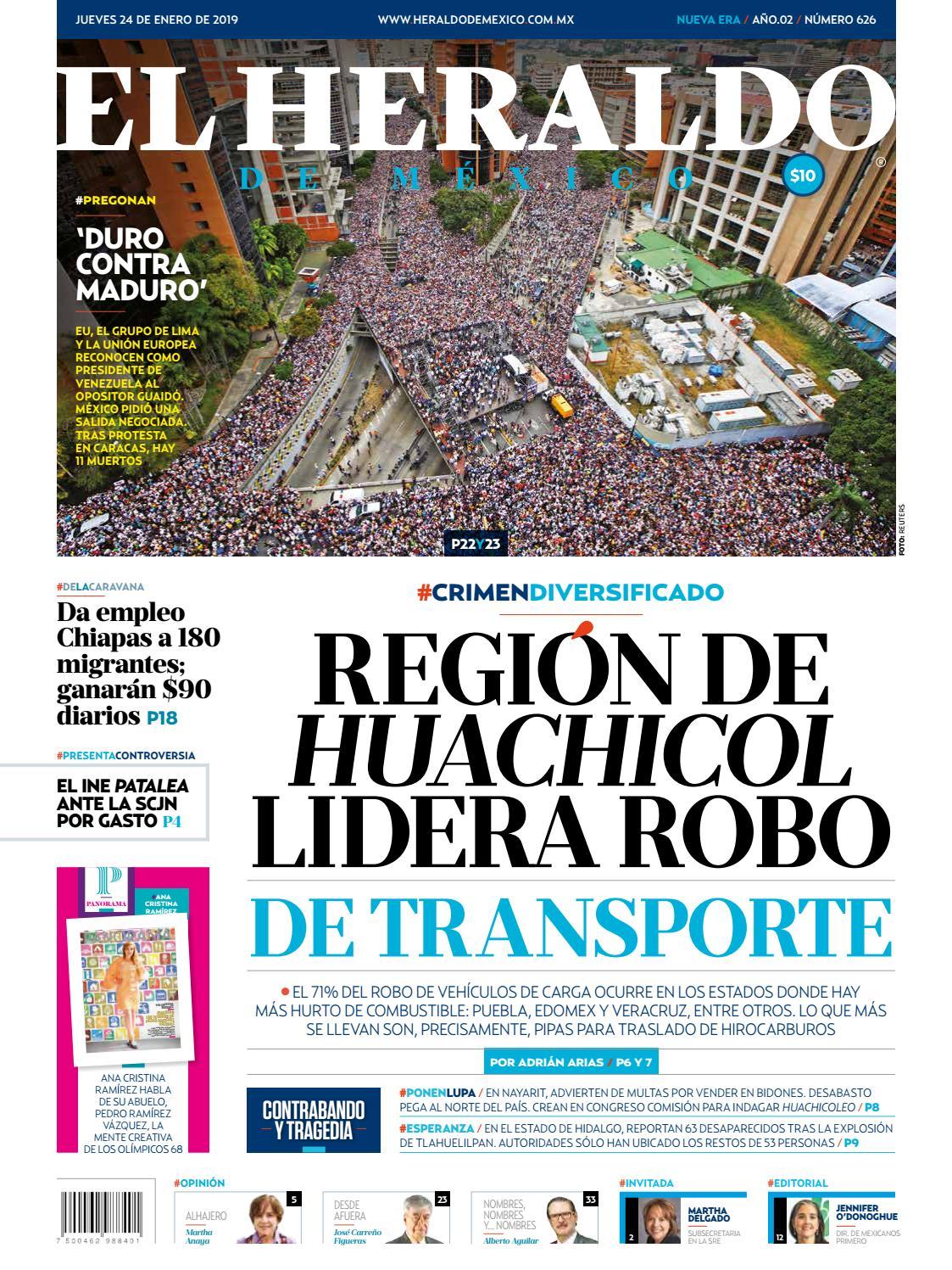 5882d165be0a4 24 de enero de 2019 by El Heraldo de México - issuu