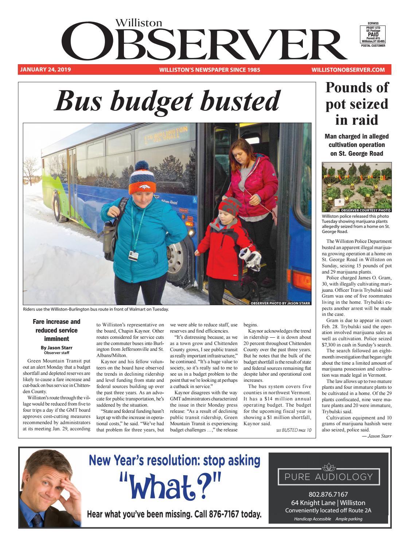Williston Observer 1-24-19 by Williston Publishing - issuu