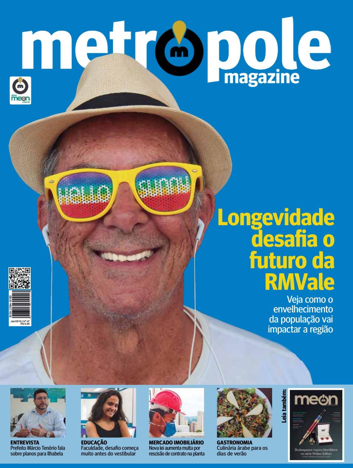 Metropole Magazine Janeiro De 2019 Edicao 47 By Portal Meon