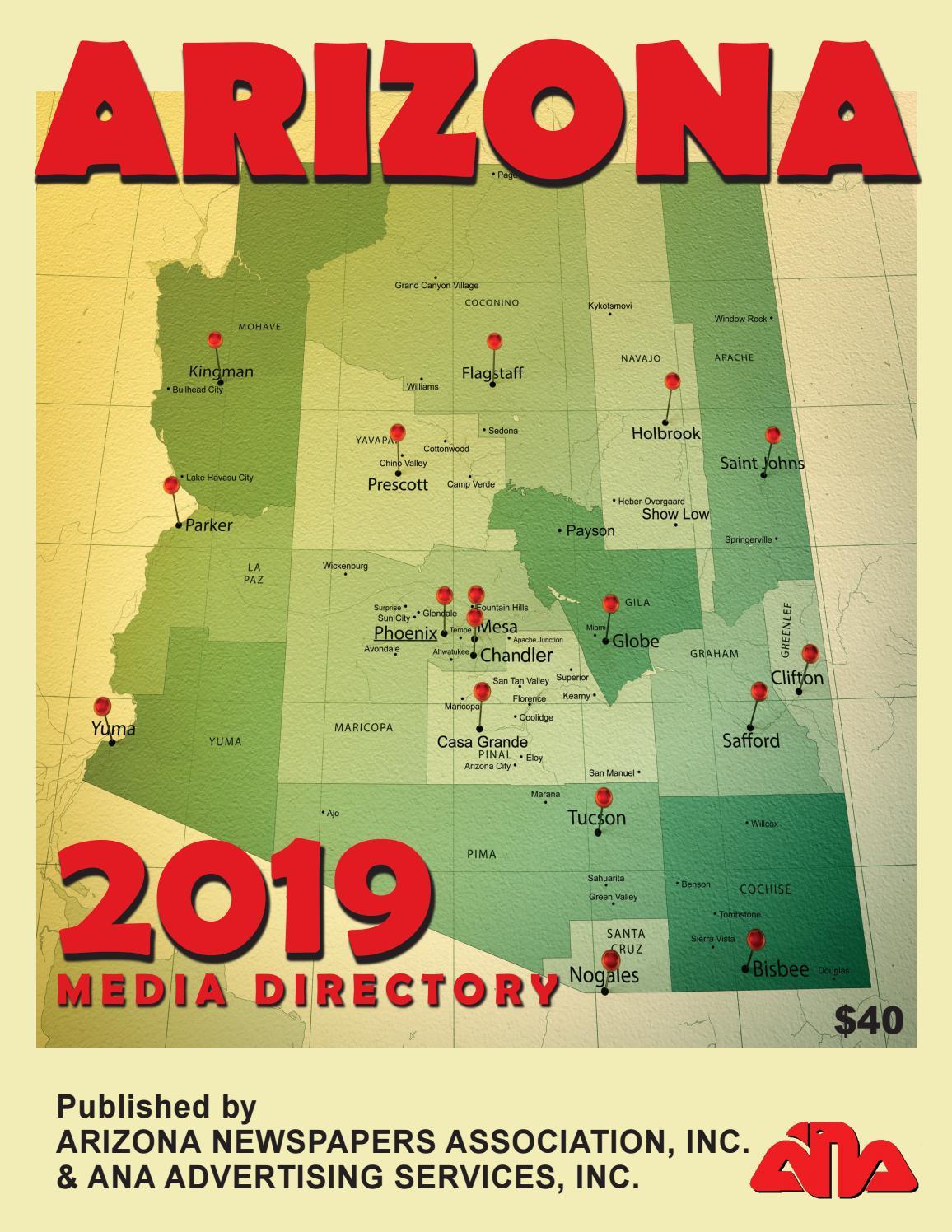 2019 ANA Media Directory by Arizona Newspapers Association