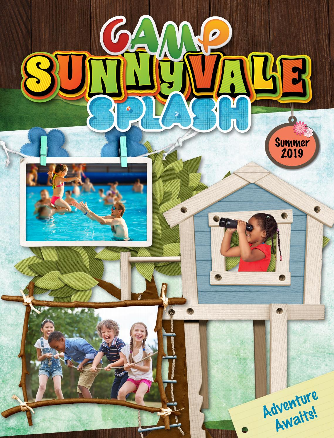 Camp Sunnyvale Splash Summer 2019 by City of Sunnyvale