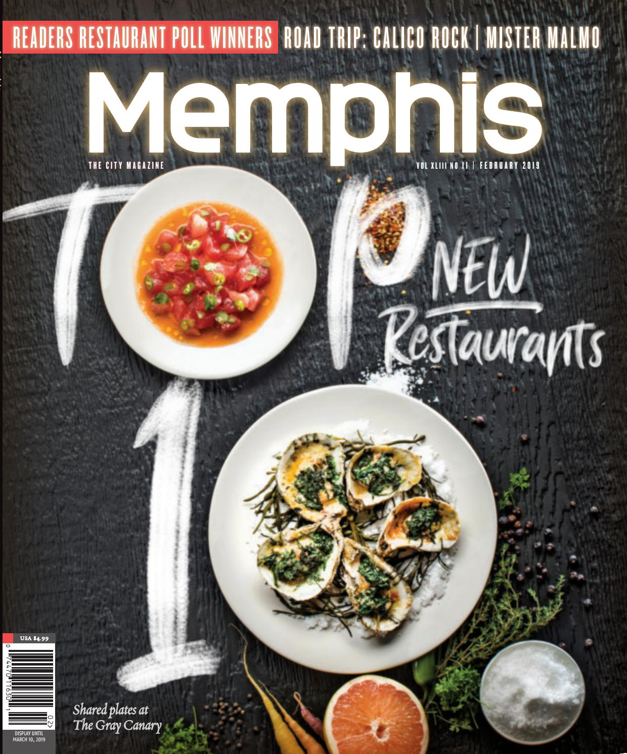 36a68846 Memphis Magazine February 2019 by Contemporary Media - issuu