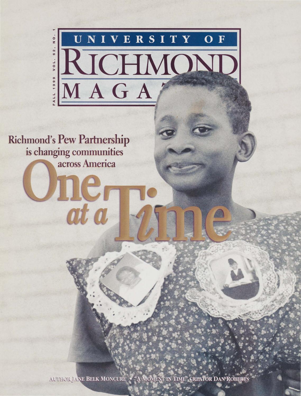 University Of Richmond Magazine Fall 1999 By Ur Scholarship